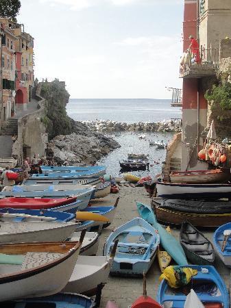 La Scogliera: Riomaggiore Harbor