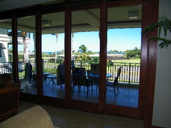 Kolea at Waikoloa Beach Resort: The Lanai-outdoor patio