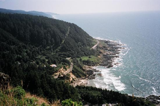 Florence, OR: Cape Perpetua scenic viewpoint