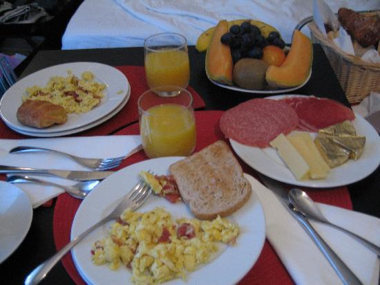 B&B Best Vatican: Delicious breakfast served to your room every morning