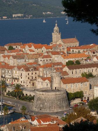 Korcula Town, Κροατία: old town Korcula