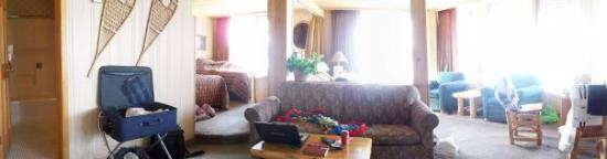 Breezy Point Resort : Breezy Point - May 2009 Panoramic view of our room!