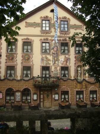 Baviera, Alemania: Back of the Zum Rassen