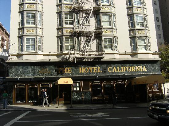 The Hotel California - A Piece of Pineapple Hospitality: Front view