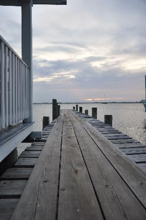 Lazy Daze on the Bay: The Boat House and dock