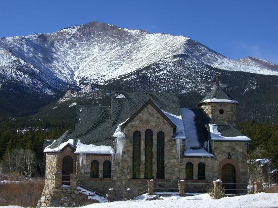 St Malo Chapel Colorado Picture Of Estes Park