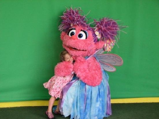 Langhorne, PA: Hugging Abby