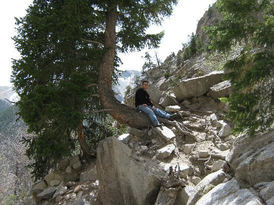 Salida, CO: This is me on one of our hikes