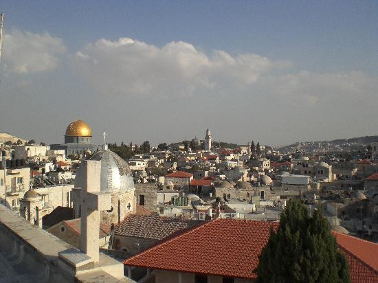 Austrian Hospice: View of Jerusalem from roof top