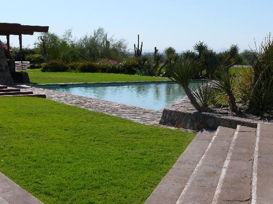 The lovely desert gardens compliment the architecture. - Picture of ...
