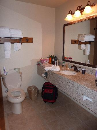 Brookstone Lodge: Bathroom