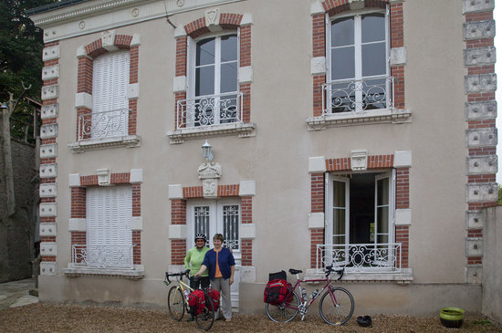 La Parerie: Departing next day on bicycle