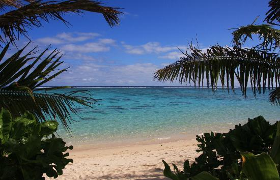 Vaimaanga, Cook Islands: Off the balcony by daylight