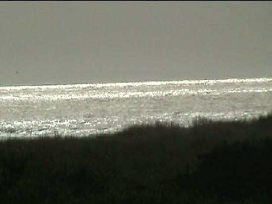Canterbury Inn: Sunlight off Pacific Ocean