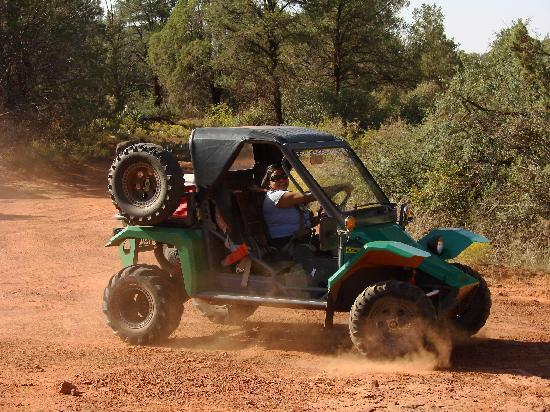 Sedona Offroad Adventures: our buggy