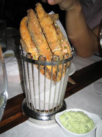 Bottega Louie: mushroom fries