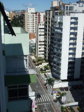 Blue Tree Towers Florianopolis: View from our window left.