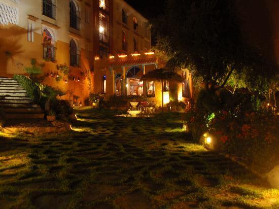 Dar Echchaouen front at night