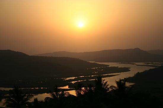 Chiplun, India: view from the room
