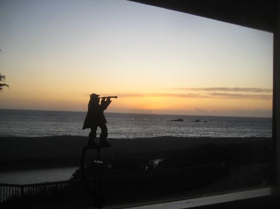 Surf Motel: spyglass view