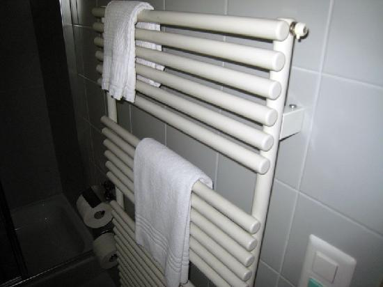 Hotel Languard: Small, thin towels :-(