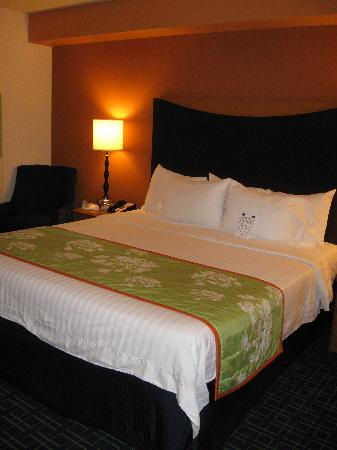 Fairfield Inn & Suites Portland North Harbour: Loved the Up-to-Date Room