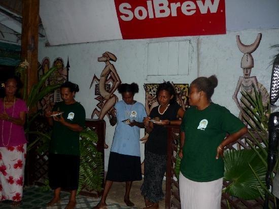 Tulaghi Island, Solomon Islands: The Vanita staff