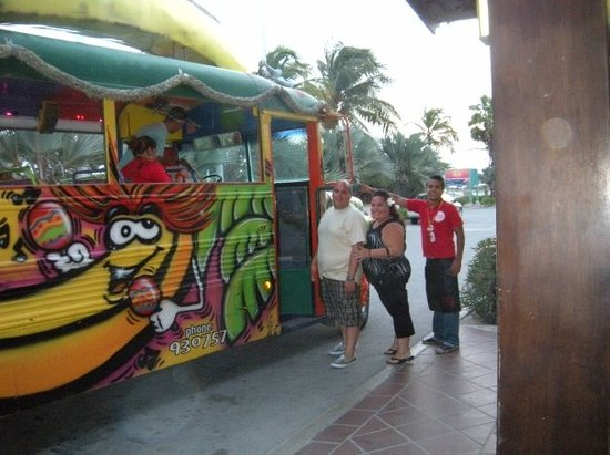 Banana Bus Photo