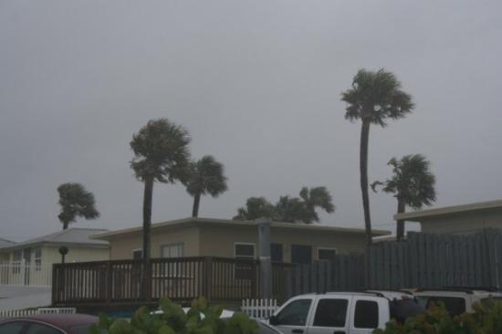 Seven Seas Resort: Tropical Storm Fay!