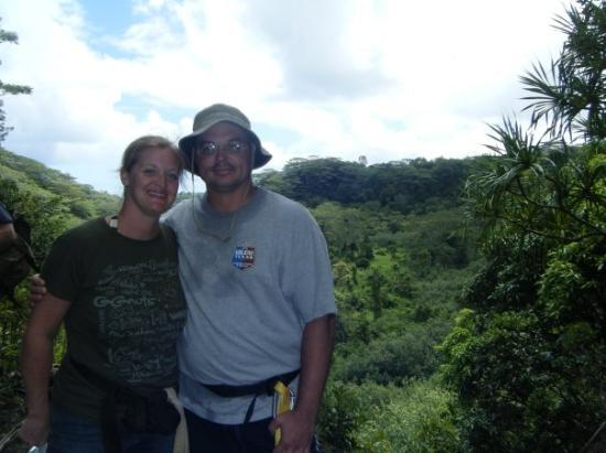 Princeville Ranch: Hiking in the mountains of Kauai.