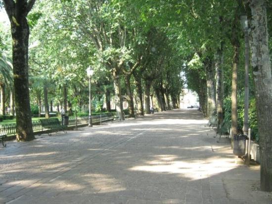 Cittanova, Italy: la villa :D
