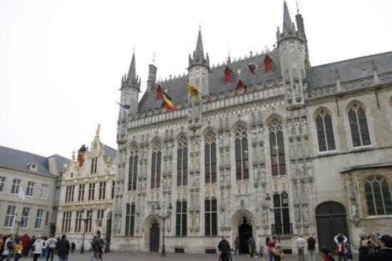 ทาวน์ฮอลล์: Town Hall, Bruges, Belgium