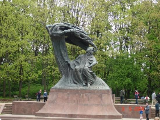 Chopin Monument: Frédéric Chopin Statue
