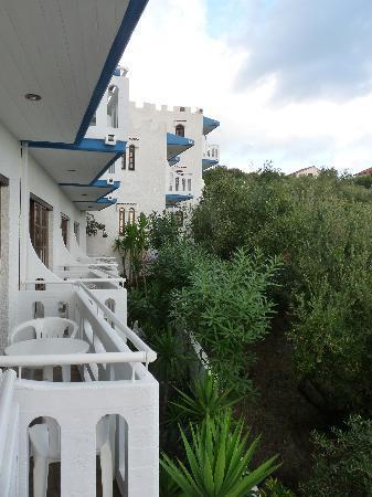 Folia Apartments: Sea side of Folia