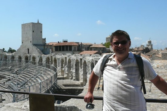 Hotel Mas des Piboules : Arles' Roman ampitheatre