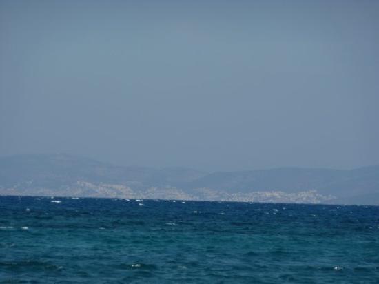 Psalidi, กรีซ: ... Blick auf die türkische Küste ... müsste Bodrum sein