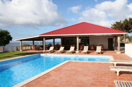 pool at Statia Lodges