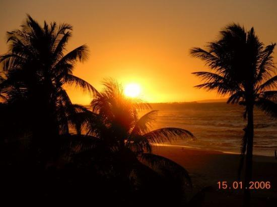 Varadero Beach Sunset From The International
