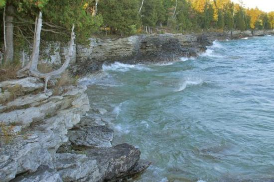 View of rock island picture of fish creek door county for Fish creek door county