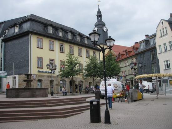 อิลเมโน, เยอรมนี: The center of Ilmenau.