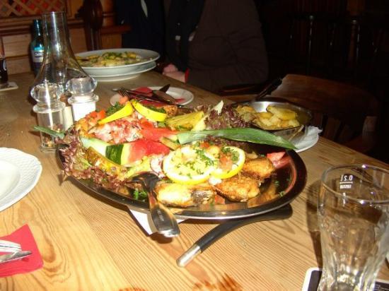 Baltrum, Alemania: Die Speisen