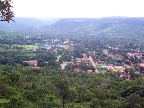 Palmas, TO: Vista de Taquaruçu desde la Pedra de Pedro Paulo