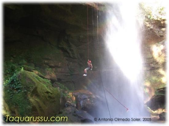 Cachoeira Roncadeira, Taquaruçu, Palmas, State of Tocantins, Brasil
