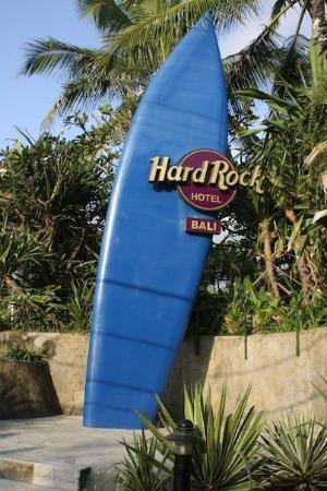 Hard Rock Hotel Bali: Hard Rock Hotel - Bali. Nothing is understated here.