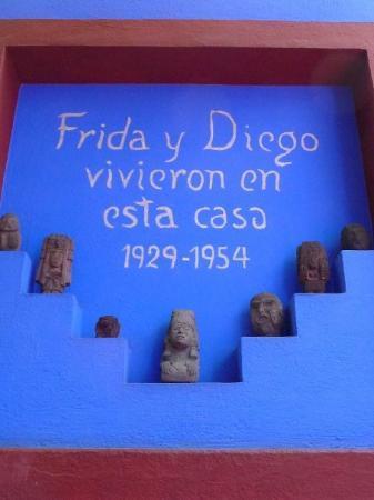 เม็กซิโกซิตี, เม็กซิโก: Casa Azul, Coyoacan, Mexico D. F.