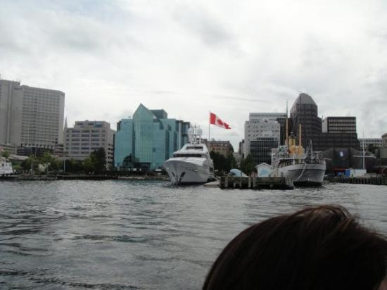 Halifax, Canada: The owner of 'Tim Horton's' yacht