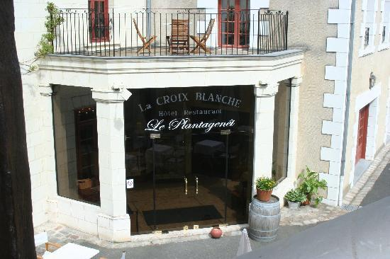 Hotel La Croix Blanche Fontevraud: Main Lobby