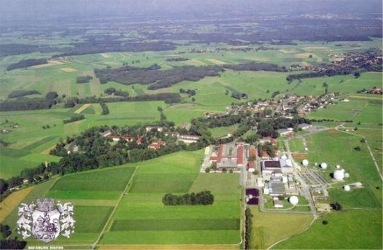 Aerial of Bad Aibling Station