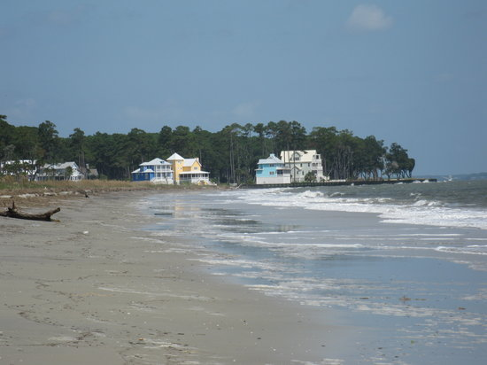 Daufuskie Island, SC: A view from Bloody Point Beach