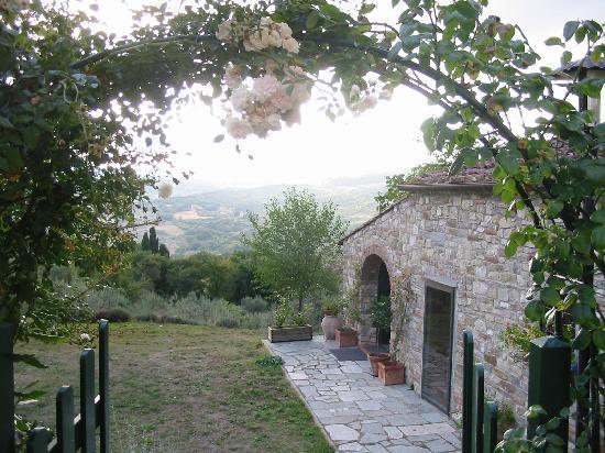 Agriturismo Poggio al Sole: View to the West.